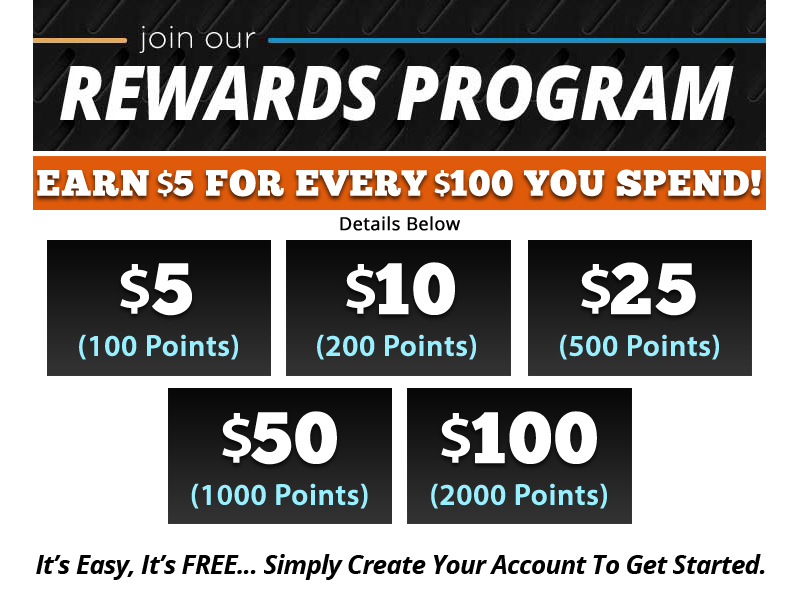 Rewards Program Info